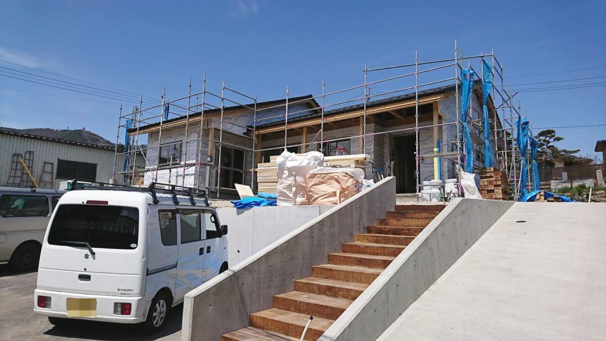 大工さんがお施主様 長野県のI建設さん施工指導